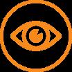 Picto Identité visuelle orange