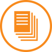Picto revue de presse orange